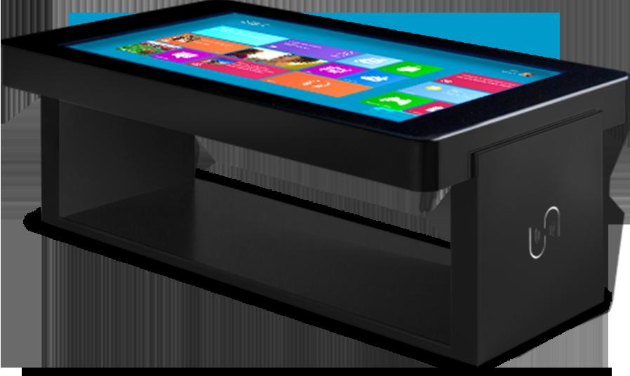 tabata table basse tactile 42 pouces digital france. Black Bedroom Furniture Sets. Home Design Ideas