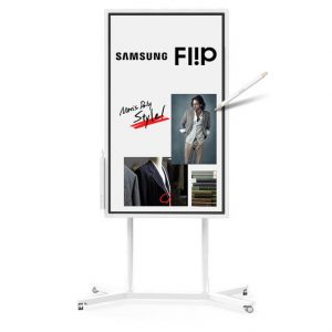 Samsung Flip - WM55H + Support roulant inclus STN-WM55H