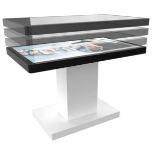 """Table Tactile Os 55"""""""